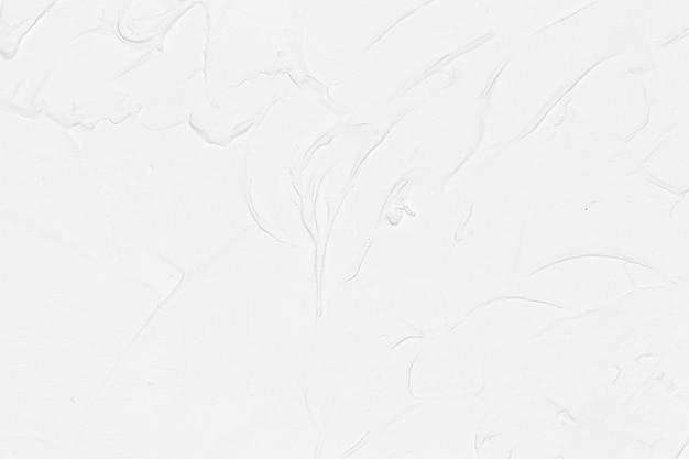 Świeży biały muśnięcie farby tło