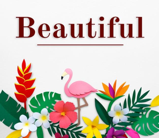 Świeży i piękny kwiat na orzeźwiający relaks