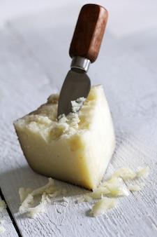 Świeży i pyszny ser