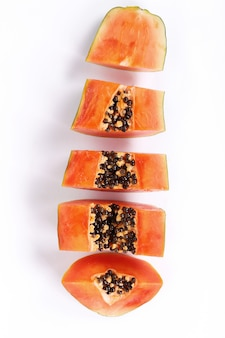 Świeży owoc papai