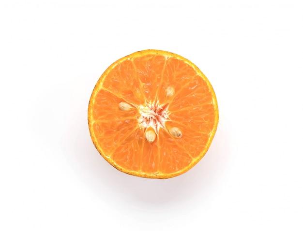 Świeży pomarańczowy
