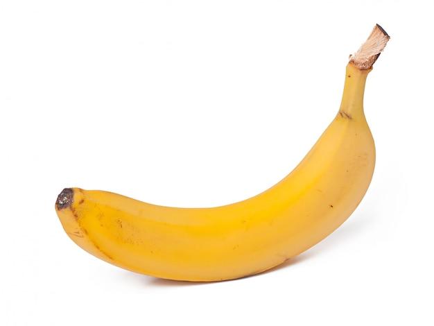 Świeży żółty banan