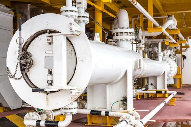 Świniarka w przemyśle naftowym i gazowym, czyszczenie wyposażenia linii rur w przemyśle naftowym i gazowym