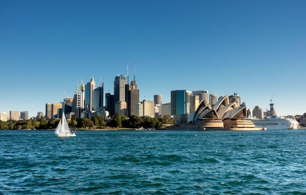 Sydney cbd z promu
