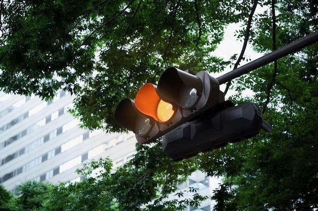 Sygnalizacja świetlna na ulicach miasta
