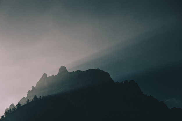 Sylwetka góry
