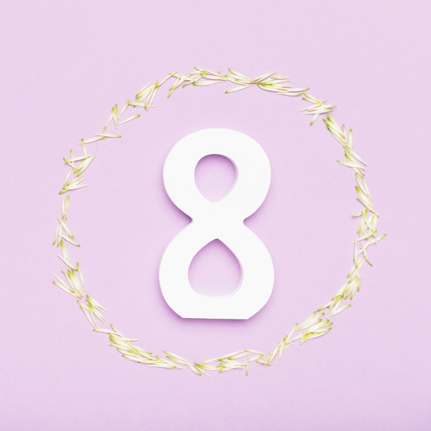 Symbol 8 marca na dzień kobiet