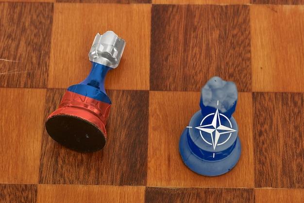 Symbol narastającej konfrontacji między federacją rosyjską a zachodem
