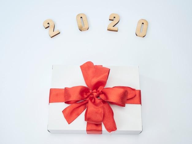 Symbol z numeru 2020. świąteczny nowy rok