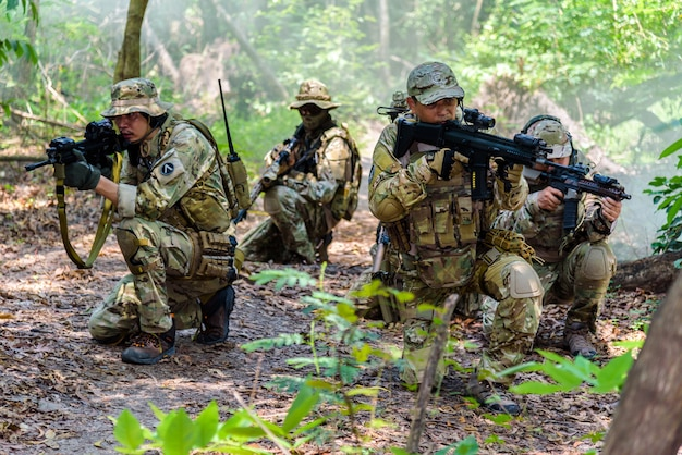 Symulacja planu bitwy w bangkoku w tajlandii