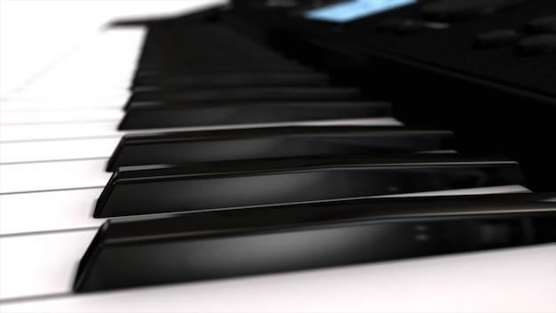Syntezator instrumentów muzycznych z bliska
