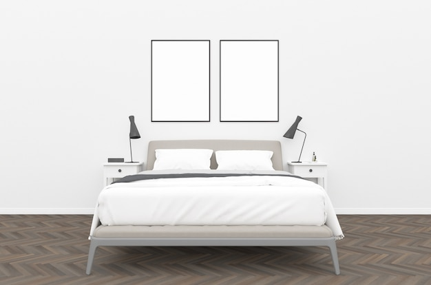 Sypialnia - galeria ścienna