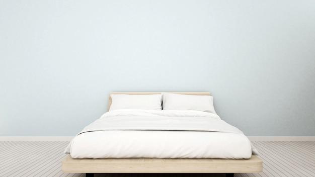 Sypialnia w mieszkaniu lub domu
