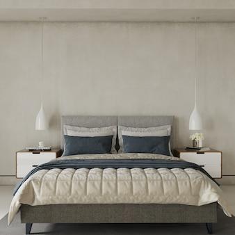 Sypialnia z łóżkiem