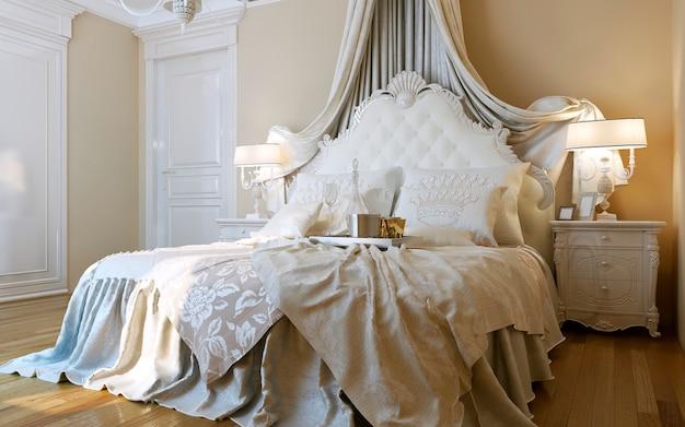 Sypialnie w stylu barokowym