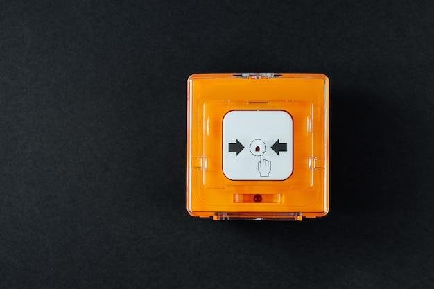 System alarmu przeciwpożarowego
