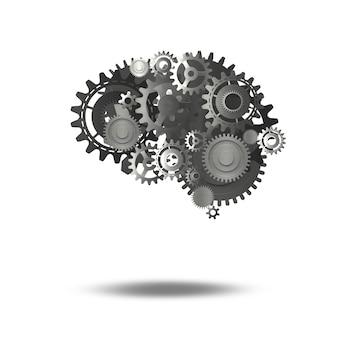 System przekładni mechanicznych jako ludzki mózg