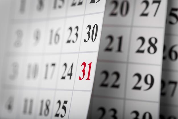 Szablon kalendarza organizatora, tło
