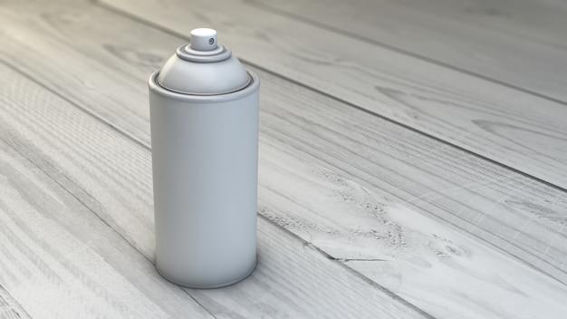 Szablon puszki ze sprayem