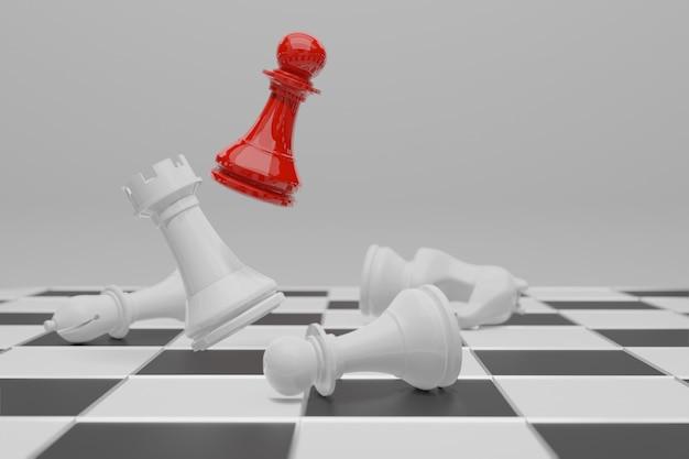Szachowa gra planszowa, koncepcja konkurencji biznesowej