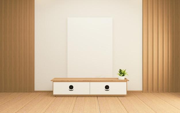 Szafka w japońskim salonie