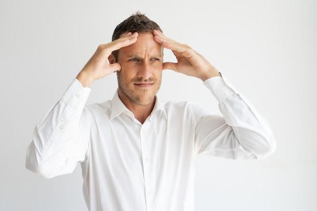 Szalony pomysł dmuchanie umysłu dojrzałego mężczyzny