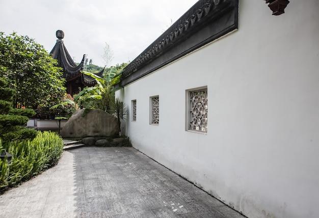 Szanghaj refleksji shaolin znak klasztoru