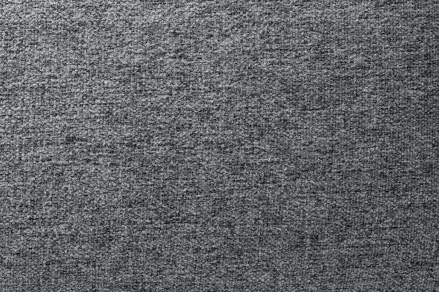 Szara bawełna tekstura.