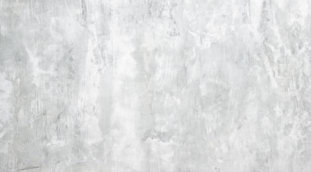Szara betonowa ściana tekstur z gładką ścianą cementową. lub vintage grunge białe tło tekstury. konstrukcja koncepcji