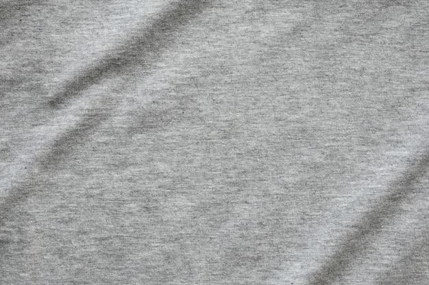 Szara koszula z tkaniny tekstury tła