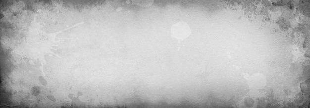 Szara tekstura starego papieru z plamami