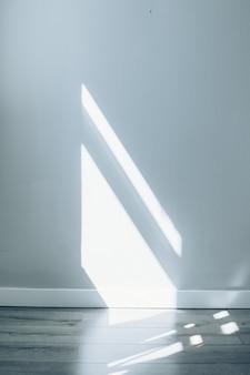 Szara tekstura tło streszczenie cieni z okna