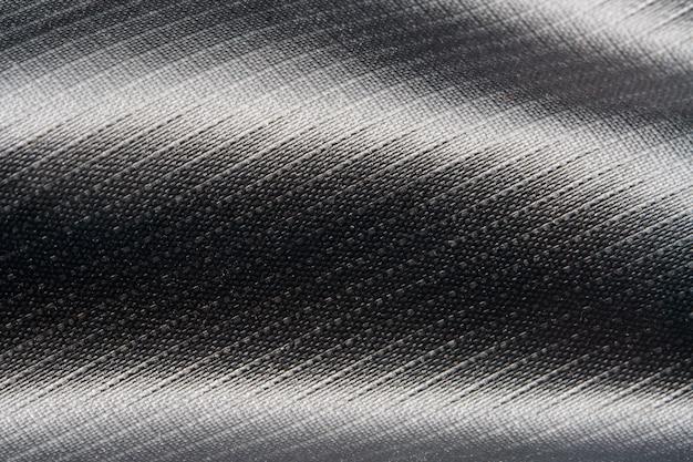 Szara tkanina nylonowa tekstura tło