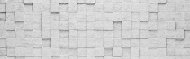 Szare kwadraty 3d wzór tła