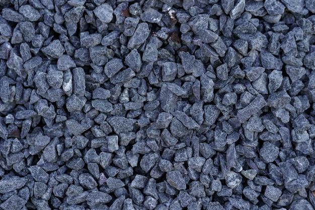 Szare małe skały zmielone tekstury.