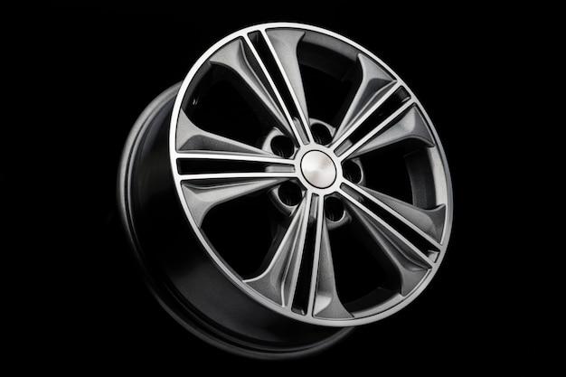 Szare piękne nowoczesne felgi aluminiowe