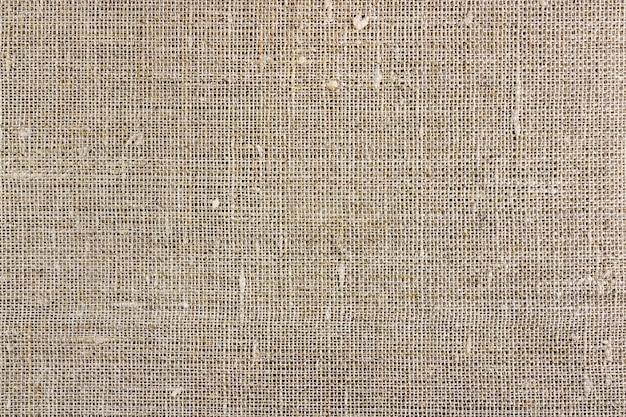 Szare płótno tekstury. tło z naturalnej tkaniny