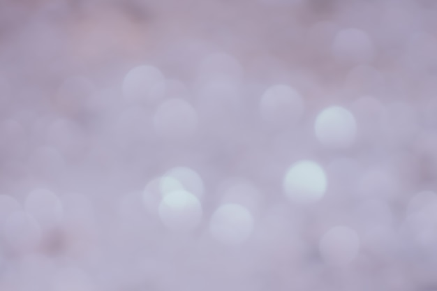 Szare światła bokeh
