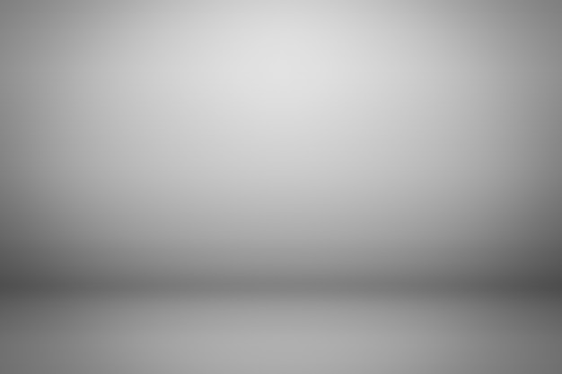 Szare tło gradientowe. wyświetl tło produktu.