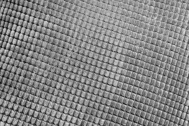 Szare tło wzór włókienniczych z bliska