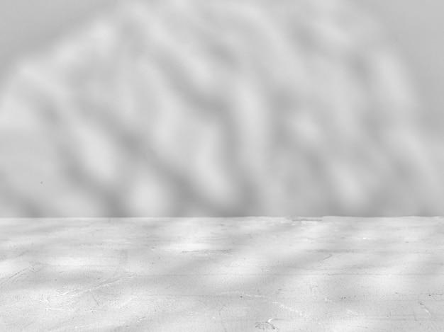 Szare tło z naturalnymi cieniami. makieta do prezentacji produktu