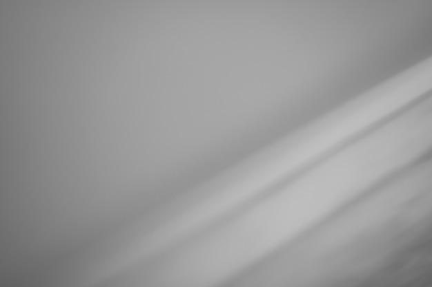 Szare tło zamazany obraz cienia na szarym tle