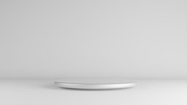 Szaro-biała scena na ciemności i ścianie dla obecnego produktu
