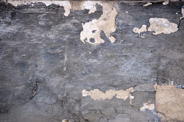 Szary grunge teksturowanej ścianie. skopiuj miejsce