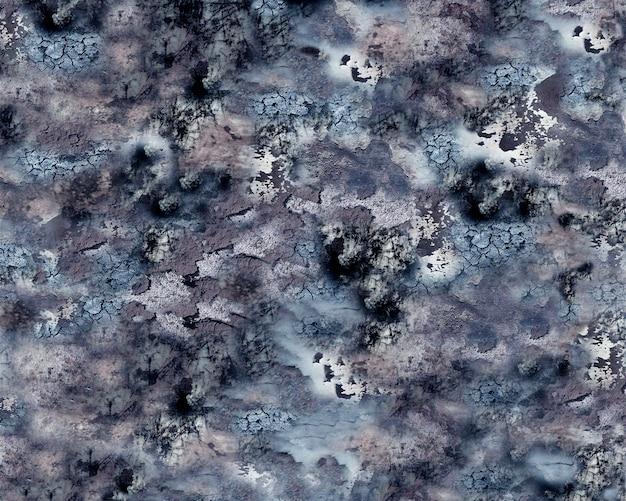 Szary i czarny akwarela tekstury tła