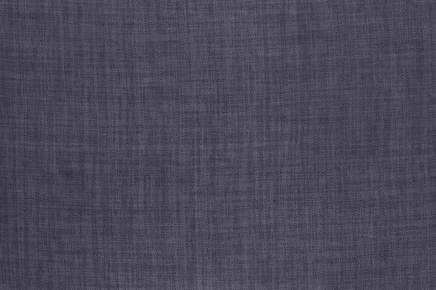 Szary lniana tkanina tekstura tło z bezszwowym wzorem.