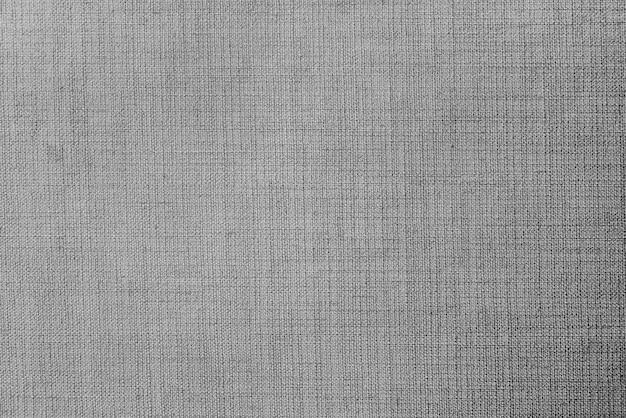 Szary materiał tekstylny teksturowany tło