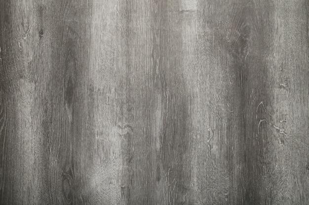 Szary stary drewniany tło z horyzontalnymi deskami