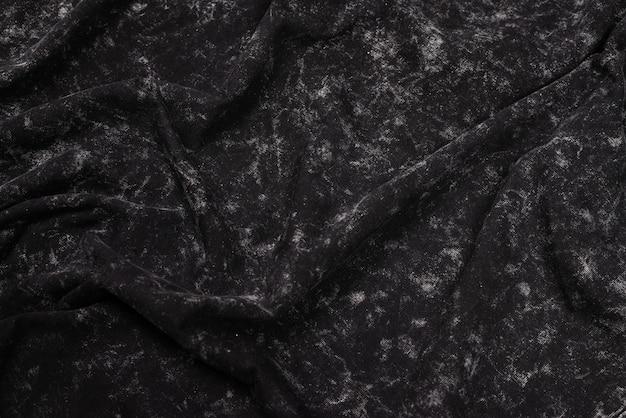 Szary wzór. szara tkanina tekstura. widok z góry.