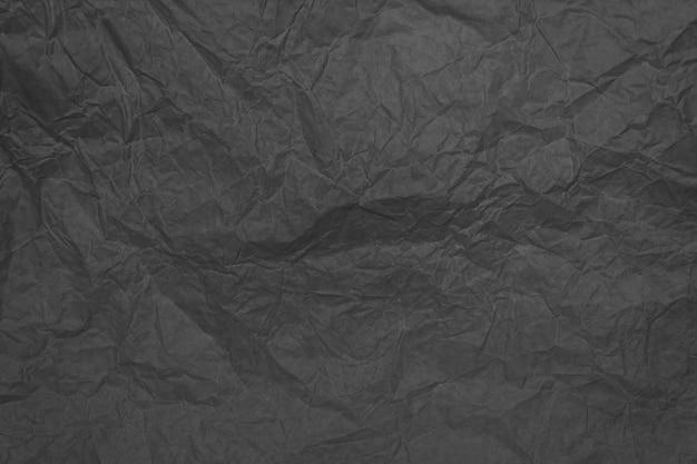 Szary zmięty arkusz papieru